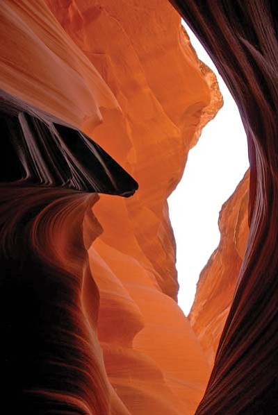Another view of Antelope Canyon.
