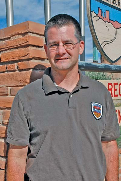 <i>Photo by Geri Hongeva</i><br> Mike Rollins is the newly selected Park Manager at Canyon de Chelly. Having over 11 years of experience at Arizona State Park, he joins the Navajo Parks and Recreation team to manage tribal parks in Navajo country.