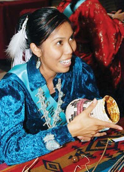 <i>Photo courtesy of United Tribes News</i><br> Evereta Thinn of Shonto was named the new Miss Indian Nations recently.