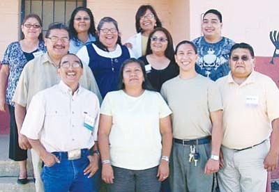<i>Courtesy photo</i><br> Participants in the 2010-2011 Hopi Leadership Program pose for the camera.