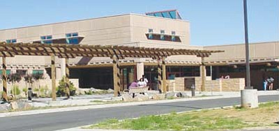 <i>Submitted photo</i><br> Front view of the Hopi Health Care Center in Polacca, which recently celebrated its 10-year anniversary.