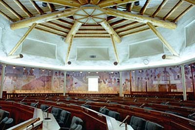 <i>Courtesy photo</i><br> On Wednesday, the Navajo Nation Council will convene for a special session to consider several pieces of legislation, including one to return the Navajo Nation Council to 88 members despite a Dec. 15, 2009 initiative where Navajo voters reduced the size of the Navajo Nation Council to 24 members. Navajo President Joe Shirley Jr. is doubtful that the Navajo people will support this.