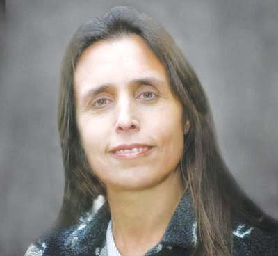 "<i>Courtesy photo</i><br> Acclaimed social and environmental activist Winona LaDuke spoke at Northern Arizona University on Feb. 1 and urged people to create a ""new future"" for Native Americans concerned about the environment."