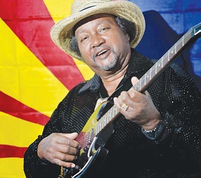 <i>Courtesy photo</i><br> Tommy Dukes of Winslow is one of Arizona's finest blues musicians. Dukes started playing guitar and harmonica at age 10 and has never looked back.