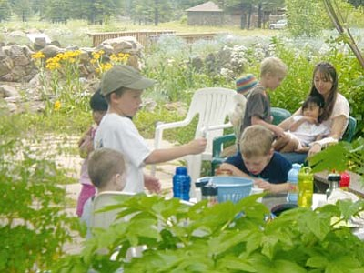 <i>Courtesy photo</i><br> Children ages 4-5 can sign up to participate in the Arboretum's new Sprouts Program, which introduces children to hands-on gardening experience.