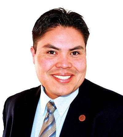 <i>Courtesy photo</i><br> Navajo Nation Council Delegate Joshua Lavar Butler (To'Nanees'Dizi).