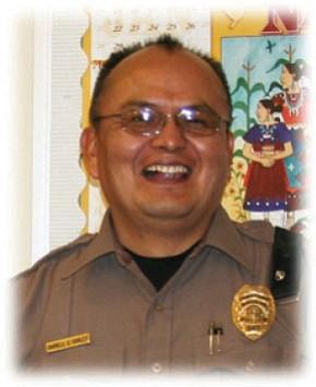 Navajo Police Sgt. Darrell Curley