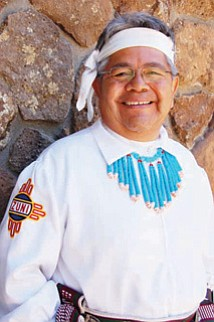 Mark Romancito of Zuni Pueblo Band will perform at the Zuni Festival.