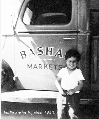 Eddie Basha Jr., circa 1940. Photo/Courtesy of Bashas'