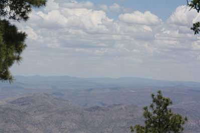 This breathtaking view comes from the top of Pine Mountain. Stan Bindell/NHO