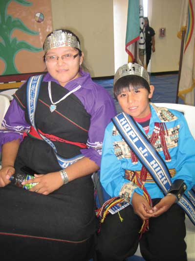 indian week honored with festivities at hopi jr  sr high