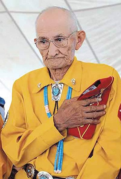 Navajo Code Talker George Smith died Oct. 30 at the age  of 90. Submitted photo
