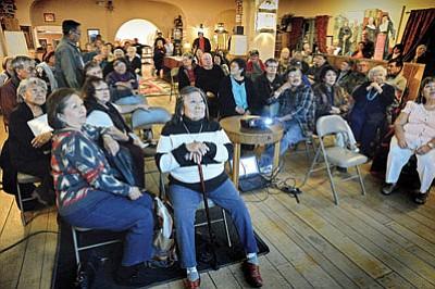 The Santa Fe Railroad Indian Band Reunion took place at the La Posada Hotel Ballroom on Nov. 16. Photo/Todd Roth