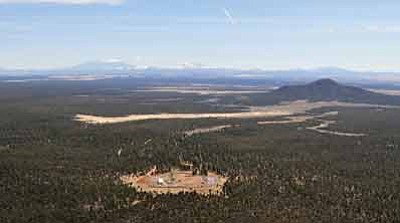 The dormant Canyon Mine in the Kaibab National Forest south of the Grand Canyon. Photo/Tara Alatorre