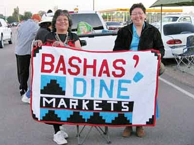 Bashas' is represented in a past Navajo Nation Parade in Window Rock, Ariz. Bashas' contributes to the Native American community through donations and scholarships. Photo/WGCN