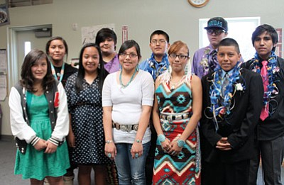 Ten eighth grade students from STAR School who raised money for a trip to Phoenix after their graduation May 23 decided to donate their trip money to victims of the Oklahoma tornadoes instead.