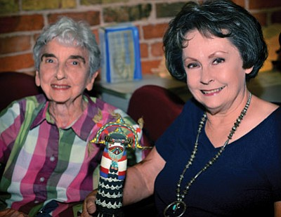 Mary Simmons (left) and Janice Griffin. Photo/Todd Roth