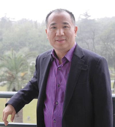 Skywalk developer David Jin died after a four-year battle with cancer. Submitted photo