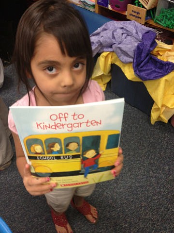 Read, talk and play this summer to get them ready for success in kindergarten!