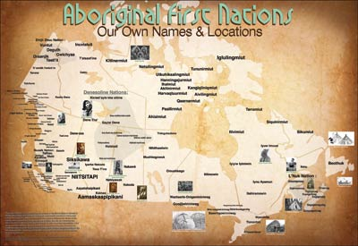 Mapmaker continues Native American tribe traditional name map