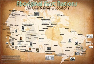 Mapmaker continues Native American tribe traditional name map series ...