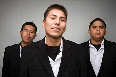 The Plateros take the stage at the Moenkopi Legacy Inn Dec. 14. Submitted photo
