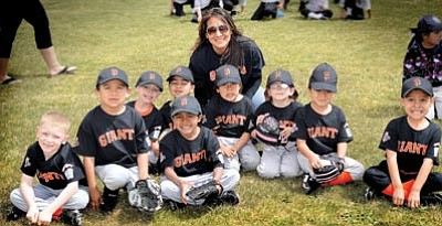 The 2014 Winslow Giants T-Ball team. Photo/Todd Roth