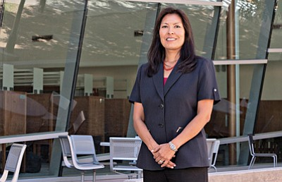 Diane Humetewa is the first Native American woman and member of the Hopi Tribe to become a federal judge. The Senate confirmed her May 14 with a 96-0 vote. Photo courtesy Arizona State University