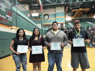 Tuba City High School Produces Five Gates Millennium Scholars For