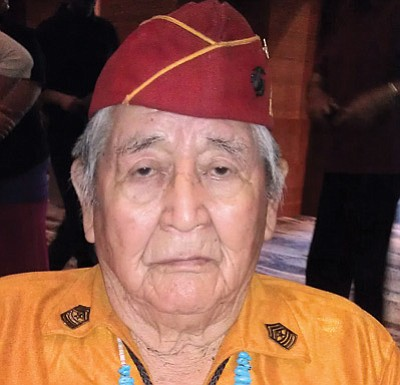 Sidney Bedoni enlisted in the U.S. Marine Corps at the age of 16 and later became a Navajo Code Talker. He died June 8 at age 91. Submitted photo