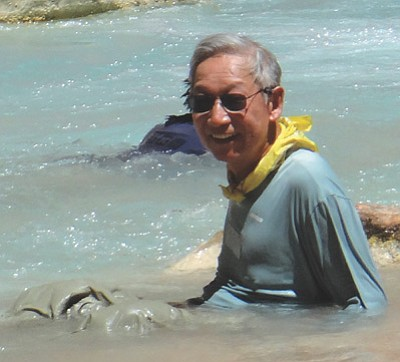Victor Tseng of Phoenix went missing at River Mile 157 on the Colorado River June 27.  Submitted photo