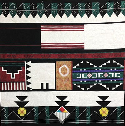 Hopitutuqaiki Art School located on Third Mesa on the Hopi Reservation will raffle off its annual Opportunity Quilt at the Sharlot Hall Museum in Prescott, Arizona on July 13. Rosanda Suetopka/NHO