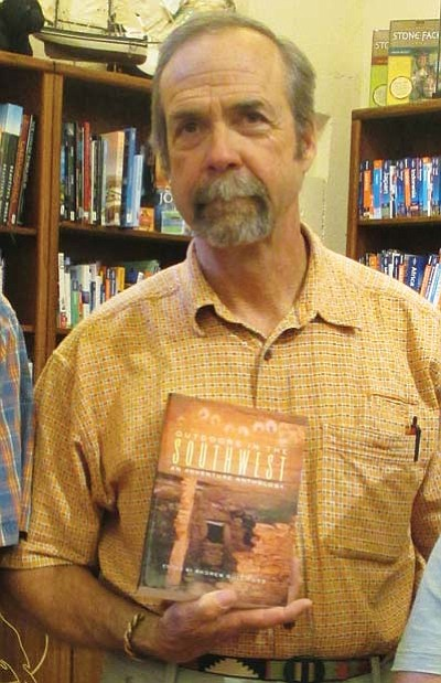 Author Andrew Gulliford at a recent book signing event. Photo/Stan Bindell