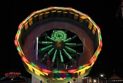 The Navajo Nation Fair features carnival rides, rodeo, musical events and traditional song and dance performances. The fair starts sept. 12. Submitted photo