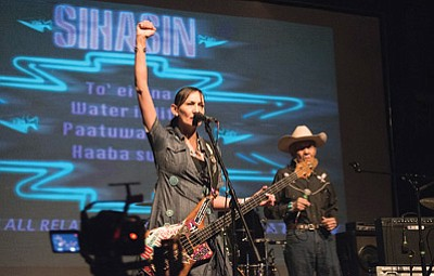 Sihasin performs at Rumble on the Mountain at the Orpheum Theater Jan. 24. Submitted photo