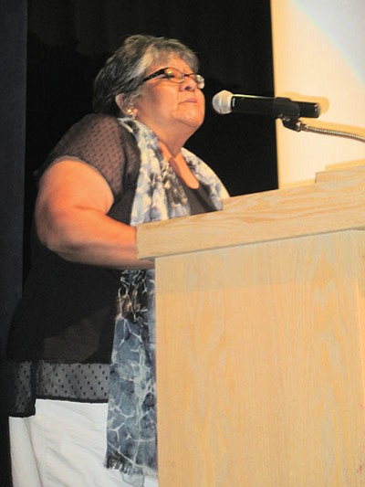 LuAnn Leonard, director of the Hopi Education Endowment Fund, said the organization has given out $8.2 million in scholarships but has more to award. Stan Bindell/NHO