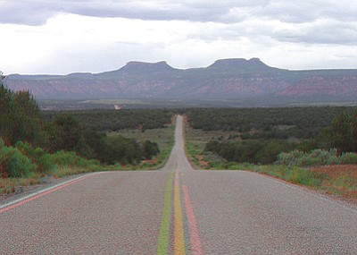 The two buttes of Bears Ears, near Natural Bridges National Monument in southern Utah. Tribal groups want 1.9 million acres around Bears Ears preserved as a national monument. Photo/U.S. Geological Survey