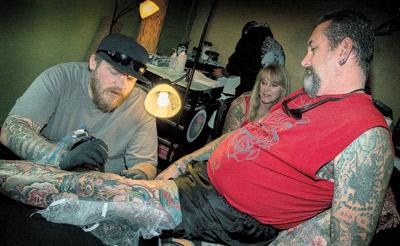 Black bar tattoo flagstaff