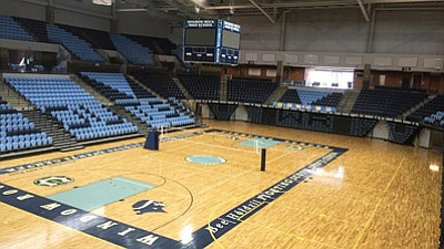 The Northern Arizona University Lumberjacks basketball team will take on Embry-Riddle Aeronautical University at 7 p.m. Nov. 20 at the BeeHoldzil Fighting Scouts Events Center in Window Rock.  Courtesy photo