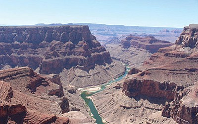 The Grand Canyon, at the confluence of the Colorado and Little Colorado rivers. A bill by Rep. Raul Grijalva, D-Tucson, would protect an additional 1.7 million acres around the canyon by designating them as part of new national monument. Sophia Kunthara/Cronkite News