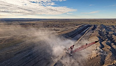 The Navajo Mine in northwest New Mexico, a surface coal mine in the San Juan Basin of northwest New Mexico, part of the Greater Chaco Landscape. Photo/Indian Country Today Media Network
