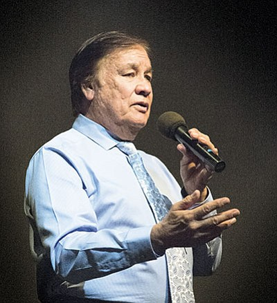Billy Mills, member of the Oglala-Lakota Sioux Nation and 1964 U.S. Olympian Gold medalist, will speak at Sinagua Middle School April 22. Photo/NHO