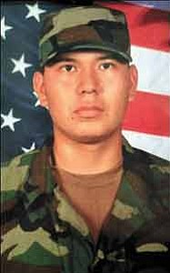 U.S. Army Sgt. Clifton Yazzie