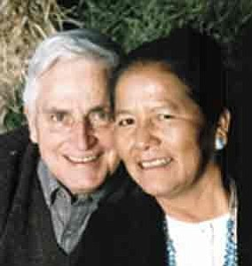 Courtesy Photo The late Dr. Robert A. Roessel and his wife Ruth Roessel
