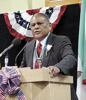 Hopi Chairman Ivan Sidney