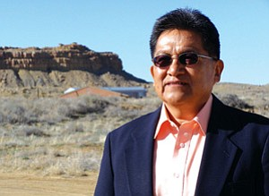 Hopi Tribal Chairman Ben Nuvamsa reflects on his options following a highly controversial decision by the Hopi Tribal Council on March 27 to nullify results of the Hopi primary and general elections held earlier this year, which removes Nuvamsa from office (Courtesy photo).