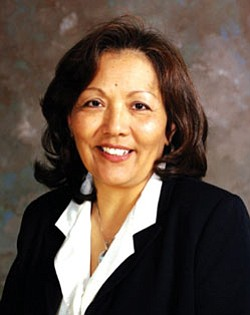 Dr. Cassandra Manuelito-Kerkvliet, great granddaughter of Navajo Chief Manuelito, and first Native American woman appointed as president of Antioch University Seattle (Courtesy photo).