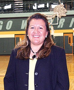 New Tuba City High School principal Jacqueline Wauneka (Photo by Byron Poocha/TCUSD).