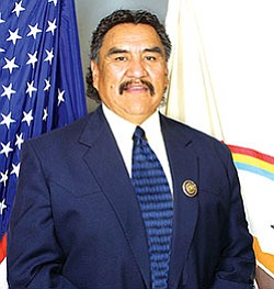Navajo Nation Speaker Lawrence T. Morgan (Courtesy photo).