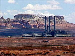 The controversial Black Mesa coal mine, which is operated by Peabody Coal Company (Photo from www.blackmesais.org).